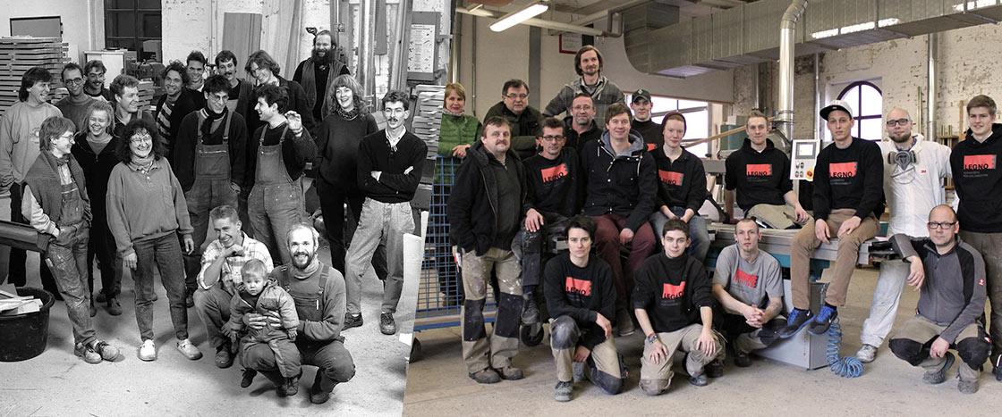 Legno - damals und heute