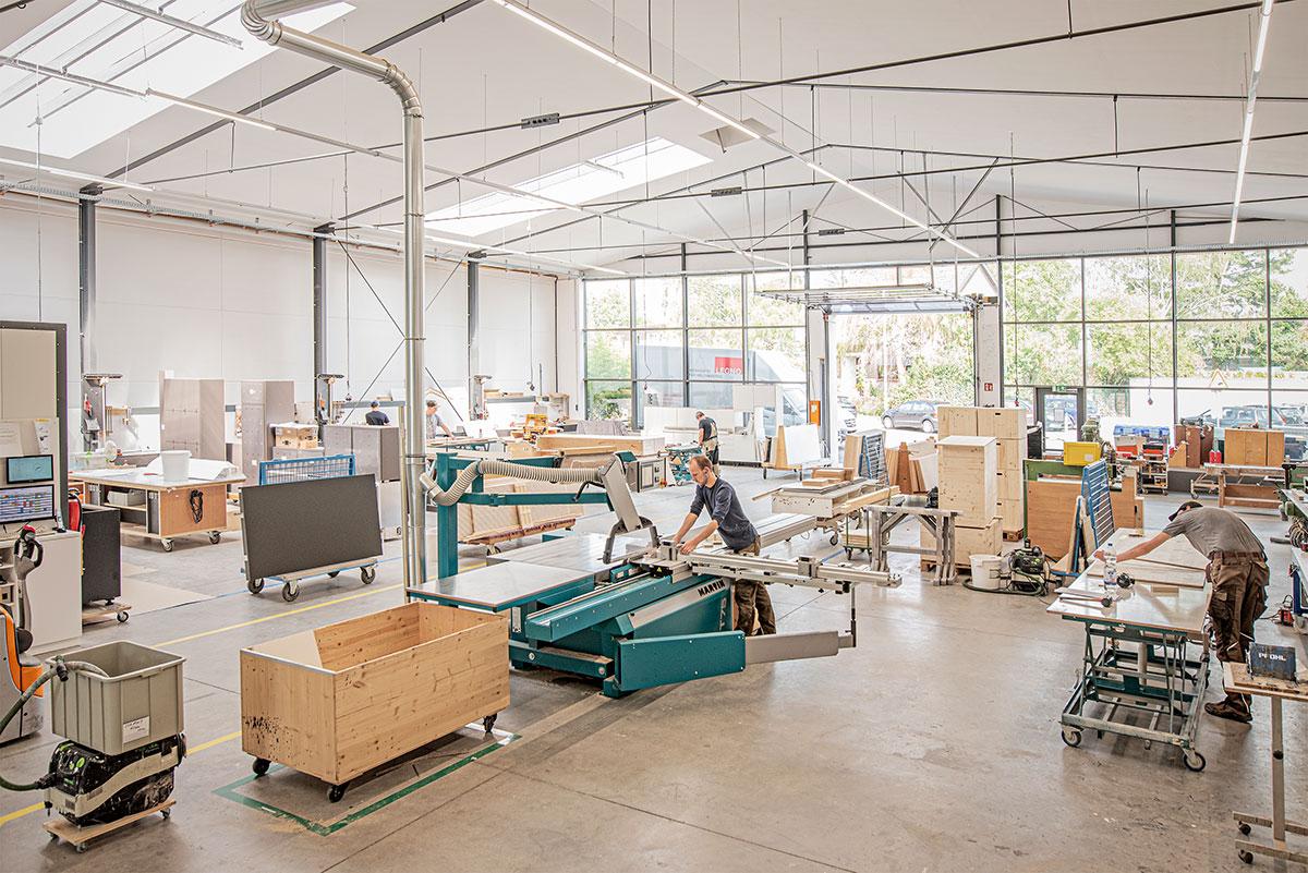 Legno Produktionshalle